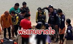 พ่อร่ำไห้แทบขาดใจ พบศพลูกสาววัย 13 ปี จมน้ำอูนดับ หลังลงเล่นน้ำแล้วสูญหายข้ามคืน
