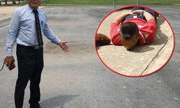 โรงเรียนดังกระบี่แจงดราม่า ให้นักเรียนค่ายละลายพฤติกรรมหมอบคลานกลางแดด