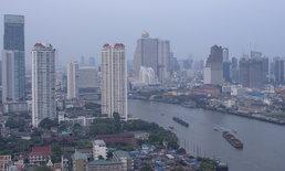 """คนกรุงฯ หายใจโล่ง ฝุ่น PM 2.5 จาง เหลือ """"บางคอแหลม"""" จุดเดียวที่ยังแย่"""