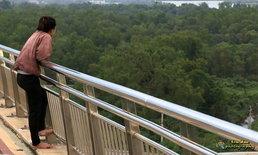 """พบร่างไร้วิญญาณ """"น้องจิ๊บ"""" สาวดิ่งสะพานศรีสุราษฎร์ ลอยโผล่กลางอ่าวไทย"""