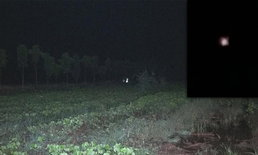 ผีกระสือมาเยือน ดวงไฟวูบวาบโผล่ทุ่งนาวิเชียรบุรี หลังเพิ่งชำแหละวัว