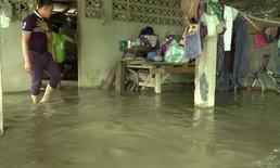 """พิษ """"พายุมังคุด"""" เกิดน้ำป่าไหลทะลักท่วมในพื้นที่ กระทบชาวบ้านกว่า 50 หลังคาเรือน"""