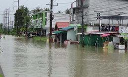 สตูลยังอ่วม น้ำท่วมเข้าตลาดย่านการค้า ชาวบ้านเดือดร้อนกว่าสองพันครัวเรือน