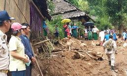 ค้นหาต่อวันที่ 3 เหยื่อน้ำป่าซัดศูนย์อพยพฯ สบเมย พบแล้ว 2 ราย ยังหายอีก 6