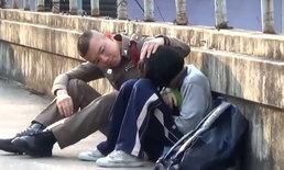 เด็กหญิงโทรบอก 191 จะกระโดดสะพานลอย ตำรวจนั่งเกลี้ยกล่อมจนเปลี่ยนใจ