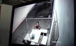 หลักฐานคาจอ-โจรย่องงัดร้านค้า ตำรวจรู้เบาะแสตามรวบคาบ้านเช่า