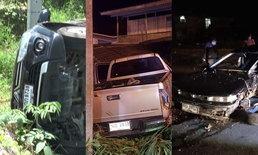 """รวมฮิตเลขเด็ด! 3 อุบัติเหตุรถยนต์สุดเหลือเชื่อ ผู้ขับขี่-คนนั่ง """"รอดตาย"""" ปาฏิหาริย์"""
