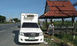จอดพักยังโดน...หนุ่มรถส่งของจอดนอนศาลาริมทาง ถูกล้วงกระเป๋าชิงเงินสด-กุญแจรถ
