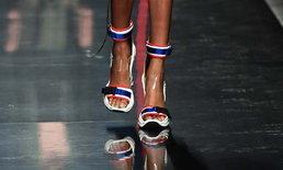ดราม่า ชาวเน็ตไทยแห่ถล่มเพจ Vogue Paris หลังลงภาพรองเท้าสีคล้ายธงชาติ