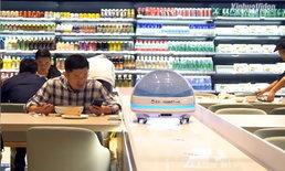 สุดล้ำ ภัตตาคารหุ่นยนต์ที่เซี่ยงไฮ้ เสิร์ฟอาหารถึงโต๊ะใน 40 วินาที