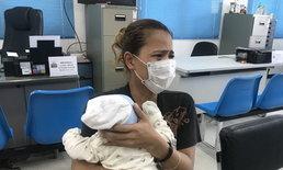 ทนไม่ไหวแล้ว! สาวกัมพูชาอุ้มลูกโร่แจ้งความ หลังถูกสามีไทยเมายาทุบตีตนและลูกเป็นประจำ