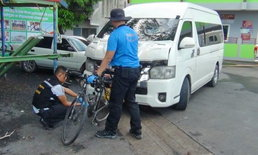 ตำรวจคว้าตัวรถตู้ชนแล้วหนี ทำนักปั่นฟิลิปปินส์ดับ เตรียมเปิดแถลงข่าว