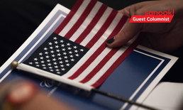 """""""ธงชาติสหรัฐ"""" ผลงานออกแบบของเด็ก ม.5 ที่ครูไม่ชอบ แต่เข้าตาผู้นำประเทศ"""