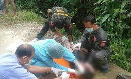พบศพหนุ่มใหญ่ในคูน้ำ-ชาวบ้านเผยผู้ตายขี้เมาคาดเดินพลัดตกกลางดึก