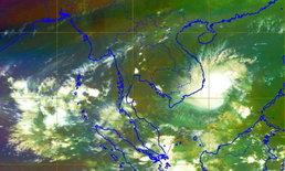 ส่องภาพดาวเทียม เที่ยงวันฝนกระหน่ำเมืองกรุง ไม่เกี่ยวอิทธิพลพายุดีเปรสชั่น