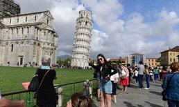 """""""หอเอนเมืองปิซ่า"""" สัญลักษณ์ของอิตาลี กำลังจะกลับมาตั้งตรง!"""
