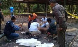 หนุ่มขาดยาโรคประสาทกำเริบ ฆ่าพี่ชายเจ้าอาวาสวัด ตายสยองข้างเมรุ