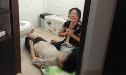 แม่กอดศพแทบขาดใจ-ลูกสาววัย 26 ผูกคอตายดับคาบ้าน คาดน้อยใจชีวิต