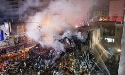 """ระเบิดร้านอาหารในซัปโปโร คาดต้นเหตุมาจาก """"กระป๋องสเปรย์ขจัดกลิ่น"""""""