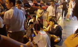 นักเรียน รร.วัดสุทธิวราราม พูดจีนเกลี้ยกล่อมหนุ่มจีนจนเลิกคิดสั้น ชาวเน็ตยกเป็นฮีโร่