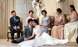 """""""แจนนิส"""" น้องสาว """"เจนี่"""" ควงแฟนหนุ่มเข้าพิธีแต่งงาน อบอุ่นอลังการไม่แพ้งานพี่สาว"""
