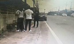 ทหารหนุ่มหัวร้อน ฉุนโดนขับรถเบียด ปาดหน้า-ชักปืนขู่ฆ่าพ่อแม่ลูกยกครัว (มีคลิป)