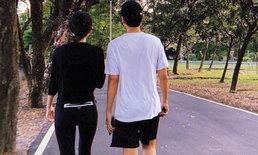"""""""ใหม่-เต๋อ"""" ชวนกันวิ่งออกกำลังกาย สร้างความทรงจำสุดโรแมนติก ในวันสุดท้ายของปี"""