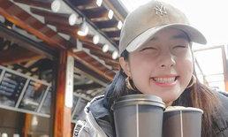 """""""จียอน"""" ลงรูปทริปเกาหลี พีคก็ตรงรูปสุดท้ายที่มี """"ฮั่น เดอะสตาร์"""""""