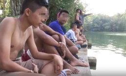 """ควันหลง """"เซ่นวันครู"""" รุ่นพี่ชวนรุ่นน้องว่ายน้ำแข่งข้ามฝั่ง-แต่เกิดหมดแรงจมดับกลางสระ"""