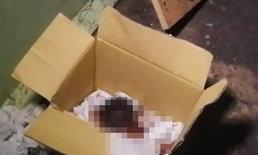 สาวเมียนมาลมแทบจับ พบศพทารกยัดกล่องกระดาษ ตร.เร่งล่าแม่ใจยักษ์!