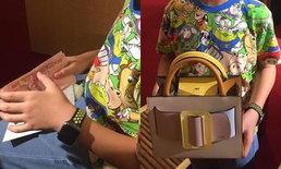 สุดซึ้ง เด็กชายเก็บเงินมา 3 ปี เพื่อซื้อกระเป๋าราคา 4 หมื่น ให้คุณแม่เป็นของขวัญ