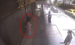 ตำรวจเร่งตามล่าหาตัวหญิงปริศนาใช้ท่อพีวีซี ไล่ฟาดหัวสาวออฟฟิศ