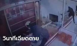 คนร้ายบุกเดี่ยวปล้นร้านทอง ชักปืนยิงเจ้าของร้านหลายนัดแต่ปืนด้าน ก่อนหอบทองหนี