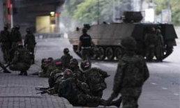 ทหาร เคลื่อนรถหุ้มเกราะเข้าสีลม แดงตื่นรับ!!