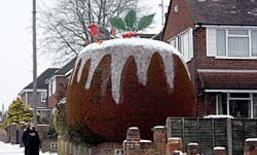 เชื่อหรือไม่ ต้นไม้กลายเป็นขนมคริสมาสต์ยักษ์