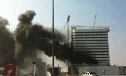 ไฟไหม้ตึกอินเด็กซ์บางนา คุมเพลิงได้แล้ว!