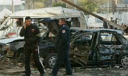 เหิมเกริม! กลุ่มค้ายาวางระเบิดรถโจมตีตำรวจเม็กซิโก
