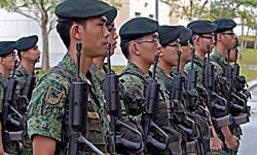 สิงคโปร์แจกไอแพด2 ให้ทหารเกณฑ์ซ้อมรบ