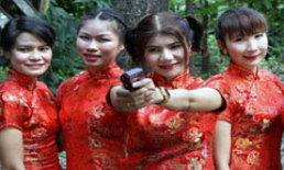 ตร.หญิง แปลงโฉมสวมกี่เพ้า ดูแลตรุษจีนเยาวราช