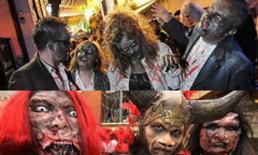 สีสันชาวโลกฉลองวันฮาโลวีน 2011