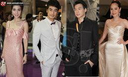 """ยิ่งใหญ่อลังการ """"ดาราไทย-เทศ"""" ร่วมงาน nine entertain awards 2013"""