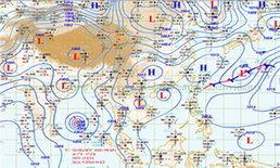 อุตุฯพยากรณ์อากาศพายุไซโคลนใกล้ถึงไทย
