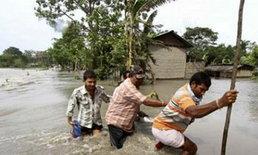 น้ำท่วมใหญ่อินเดียดับแล้ว160เร่งช่วยปชช.
