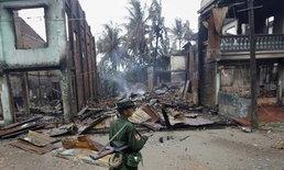 พม่าประกาศยกเลิกภาวะฉุกเฉินเมืองเมียกถิลา
