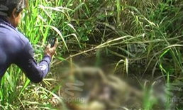 พบศพปริศนา ถูกฆ่าแยกส่วนทิ้งคูน้ำข้างถนนสายเอเชีย