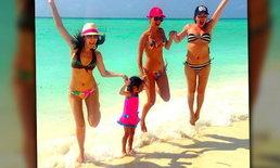 สาวแซ่บ 35+ ยกแก๊งลั้นลาที่เกาะมัลดีฟส์