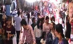 ชายแดนไทย-กัมพูชาปกตินักท่องเที่ยวบางตา