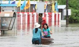 มวลน้ำจากสระแก้วถล่มเทศบาลกบินทร์บุรีซ้ำ
