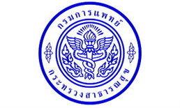 กรมการแพทย์ เปิดรับสมัครสอบบรรจุข้าราชการ