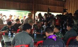 ทหารไทย กล่าวขอบคุณ ทหารกัมพูชา